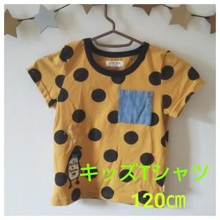 LITTLE POLPA キッズTシャツ 120㎝(Tシャツ/カットソー)