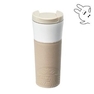 スターバックスコーヒー(Starbucks Coffee)のange様専用★ ドライブスルー レザースリーブ タンブラー・ブラウン(タンブラー)