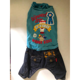 ディズニー(Disney)の犬服   プーさんロンパース(犬)