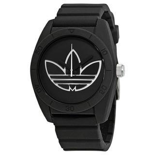アディダス(adidas)の新品 adidas 腕時計 ユニセックス ADH3189 ブラックラバー 軽量(腕時計(アナログ))