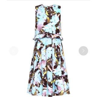 アーデム(Erdem)のErdem Muriel floral-print  dress アーデム(ひざ丈ワンピース)