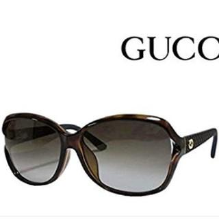 グッチ(Gucci)の早い者勝グッチサングラス新品アジアンフィット茶色グラデ べっこうスクエアレンズ(サングラス/メガネ)