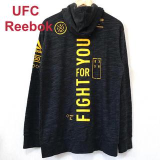 リーボック(Reebok)のherlockさん専用 新品 UFC  REEBOK  ロゴパーカー L  (パーカー)