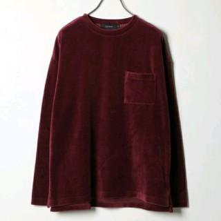 レイジブルー(RAGEBLUE)のベロアトップス(Tシャツ/カットソー(七分/長袖))
