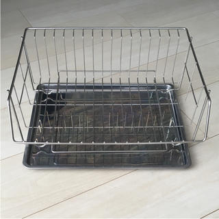 水切りラック 水切りカゴ(収納/キッチン雑貨)
