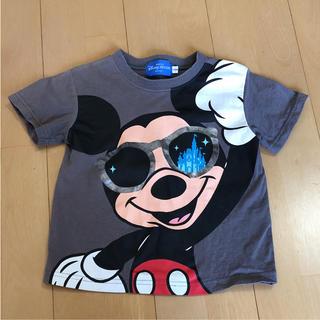ディズニー(Disney)の100㎝ ミッキーシャツ(Tシャツ/カットソー)