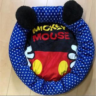 ディズニー(Disney)のディズニー  ミッキー  ペットベッド♡ペットソファー(犬)
