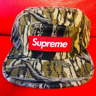 シュプリーム(Supreme)の最新 LA supreme Camp cap シュプリーム 新品 カモフラ 正規(その他)