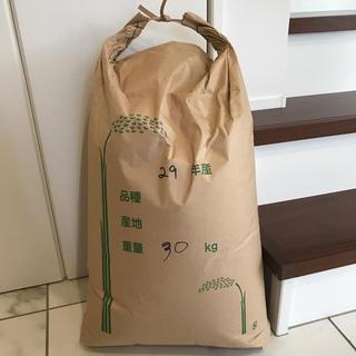 茨城県産コシヒカリ玄米30kg/29年産