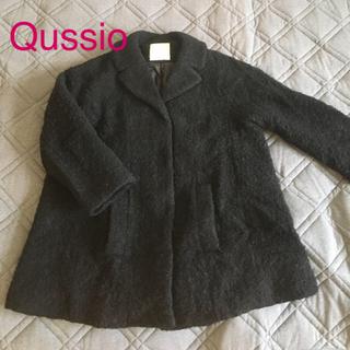 クーシオ(Qussio)のクーシオ もこもこ コート(ピーコート)