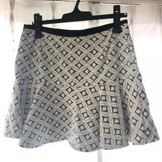 ジーユー(GU)のレースデザイン  スカート(ミニスカート)