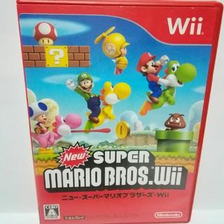 ウィー(Wii)の格安・Wiiソフト 『New スーパーマリオブラザーズ Wii』(難あり)(家庭用ゲームソフト)