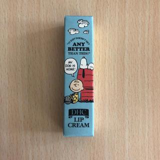 ディーエイチシー(DHC)のDHC薬用リップクリーム スヌーピー ブルー(リップケア/リップクリーム)