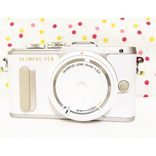 セール❤️大人気 新品 OLYMPUS PEN PL8 レンズセット ホワイト
