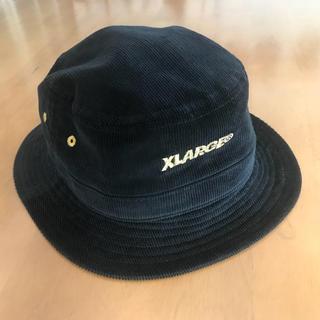 エクストララージ(XLARGE)のXLARGE コーデュロイハット ブラック(ハット)