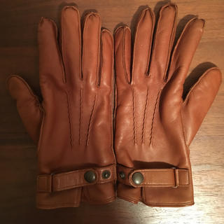 グッチ(Gucci)の値下げ  デンツ レザー手袋 イングランド製 ロフトマン(手袋)