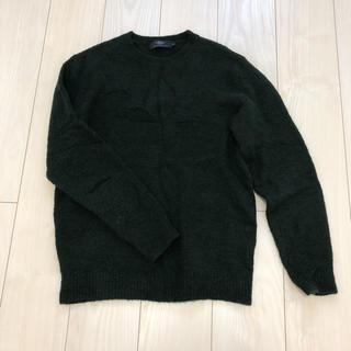 レイジブルー(RAGEBLUE)の美品!RAGEBLUEモスグリーンのセーター (ニット/セーター)