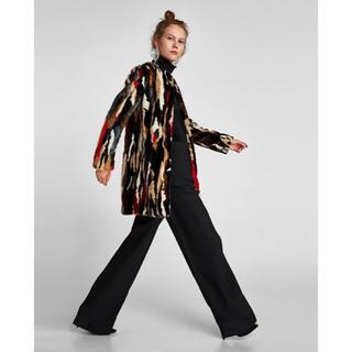 ザラ(ZARA)のZARA woman 新品 未使用ファーコート(毛皮/ファーコート)