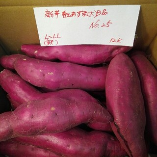 超お得‼ 訳あり☆限定品☆新芋の紅あずま(大)B品約12Kです。