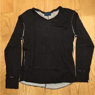 レイジブルー(RAGEBLUE)のRAGEBLUE トップス メンズ 長袖 M ブラック 黒(Tシャツ/カットソー(七分/長袖))