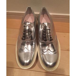 エンフォルド(ENFOLD)のENFOLD ウイングチップレザーシューズ(ローファー/革靴)