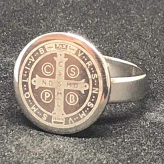 【値下げ】st.106 ステンレスファッションリング(リング(指輪))
