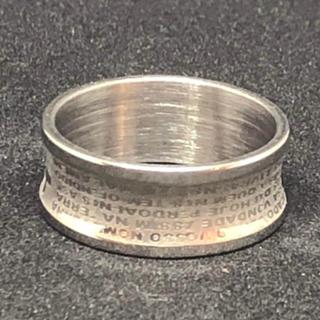 【値下げ】st.107 ステンレスファッションリング(リング(指輪))