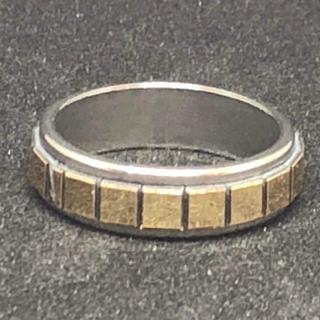 【値下げ】st.110 ステンレスファッションリング(リング(指輪))