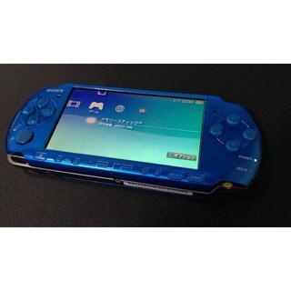 プレイステーションポータブル(PlayStation Portable)のPSP3000 動作品(携帯用ゲーム本体)