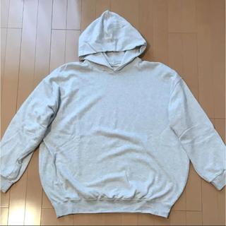ヤエカ(YAECA)の久米繊維 パーカー グレー フリーサイズ 久米 BIG(パーカー)