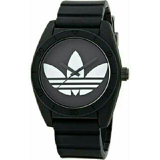アディダス(adidas)のアディダス  adidas  腕時計(黒×白)(腕時計(アナログ))