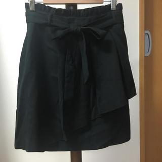 プーラフリーム(pour la frime)の黒 スカート(ミニスカート)