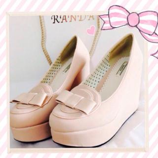 ランダ(RANDA)のRANDA♡ 厚底ローファー(ローファー/革靴)