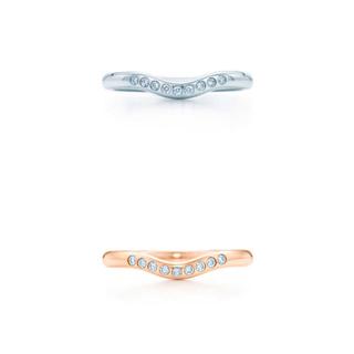 ティファニー(Tiffany & Co.)のきゃら様専用Tiffany♡ティファニー カーブドバンドリング2本セット(リング(指輪))