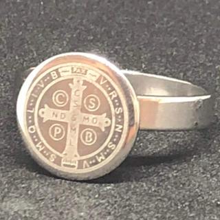 【値下げ】st.128 ステンレスファッションリング(リング(指輪))