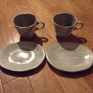 ティーカップ セット (グラス/カップ)
