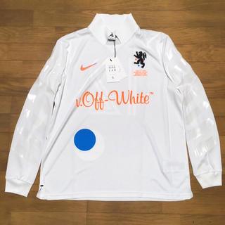 ナイキ(NIKE)のSIZE M OFF-WHITE x NIKE LAB JERSEY WHITE(Tシャツ/カットソー(七分/長袖))