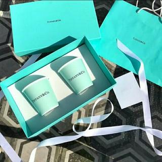 Tiffany & Co. - 新品!Tiffany 紙コップ風 マグカップ