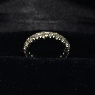 プラチナ ピンキー ダイヤ 0.70ct エタニティ リング(リング(指輪))