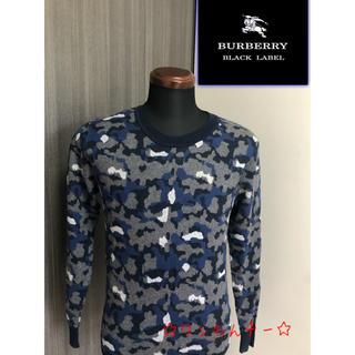 BURBERRY BLACK LABEL - 美品 バーバリーブラックレーベル ニットセーター