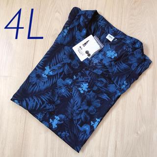 ディズニー(Disney)の【新品・タグ付】サイズ4L*ディズニー ミッキー  アロハシャツ  Tシャツ(シャツ)