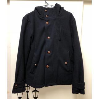 レイジブルー(RAGEBLUE)のRAGEBLUE コート  メンズ 濃紺(ピーコート)