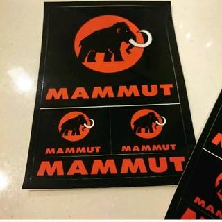 マムート(Mammut)の1枚550円 10枚4800円 新品 マムート  ポストカード ステッカー(登山用品)
