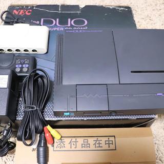 エヌイーシー(NEC)のPCエンジン DUO 本体一式セット(家庭用ゲーム機本体)