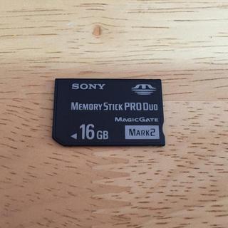 プレイステーションポータブル(PlayStation Portable)のPSP 16GB メモリースティック(携帯用ゲーム本体)