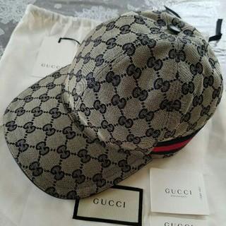 036ce8c49878 グッチ(Gucci)のGUCCI グッチ GG キャンバス ベースボール キャップ 帽子 Navy (キャップ