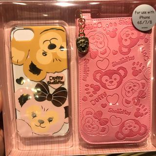 Disney - ダッフィー シェリーメイ iphoneケース カバー付き