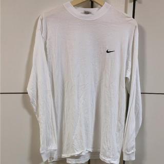 ナイキ(NIKE)のNIKE ナイキ ロンT 長袖 Tシャツ ロングスリーブ ヴィンテージ 90s(Tシャツ/カットソー(七分/長袖))