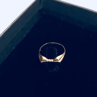 2.k18刻印  18金リング k18リング ゴールド 10号 (リング(指輪))