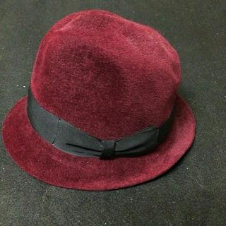 ワコマリア(WACKO MARIA)のwacko maria hat L59 ラビットファーハット 帽子 ブエナビスタ(ハット)